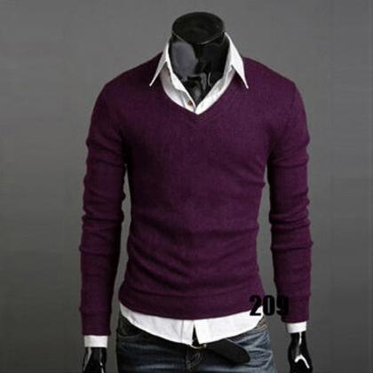 Men Knitwear Sweater Spring Autumn ..
