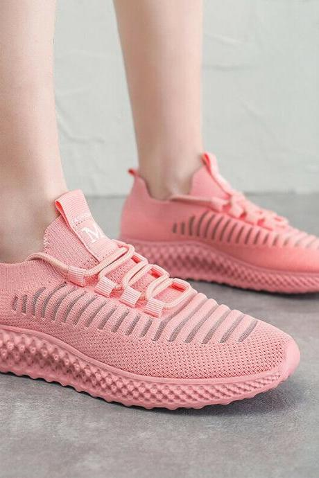 Fashion Womens Casual Running Sport Shoes Athletic Sneakers Breathable Walking