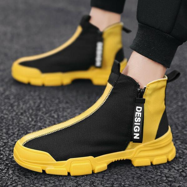 Men's Fashion Casual Shoes Ultralight Sports Sneakers Athletic Outdoor Youth Gym